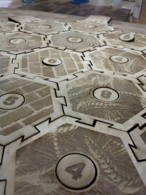 Lasercut tiles