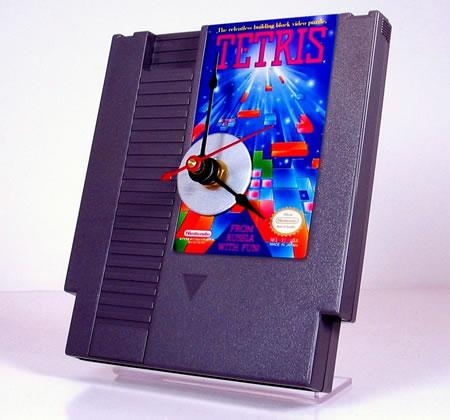 Tetriscartridgeclock