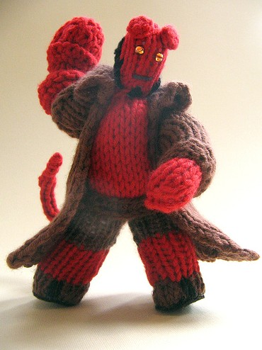Knittedhellboy