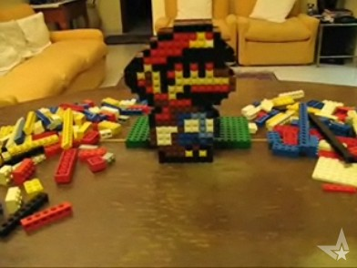 Lego Mario sprite - Wonderland